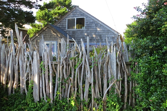 Driftwood Fence Tangly Cottage Gardening Journal