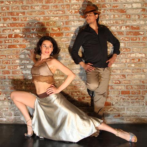 Tango Tanzen mit Fabian y Michaela