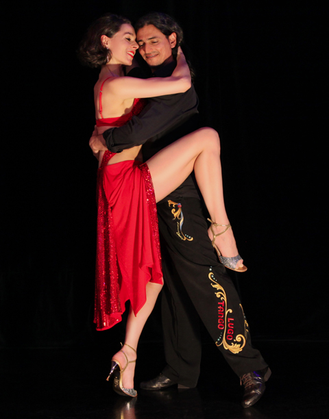 Tango München Galerie - Fabian y Michaela