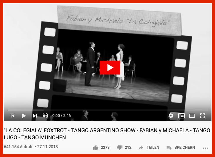 Tango München Fabian und Michaela