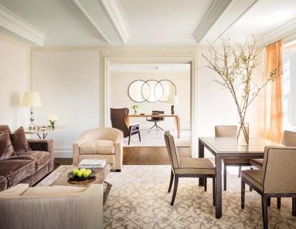 Mark Five Bedroom Terrace Suite Living Room
