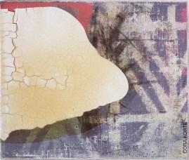 »Vanilla dream«, Mischtechnik · Leinwand · 22 x 26 cm