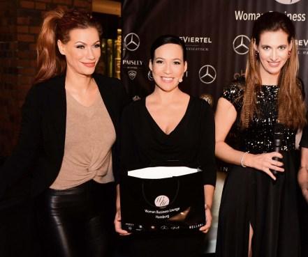 Nadine Geigle , Nandini Mitra und Yasmina Filali