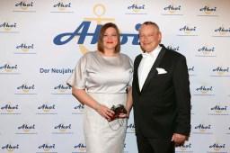 Ahoi 2018_Katharina Fegebank mit TV-Imbiss-Tester Harry Schulz
