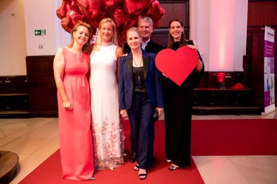 Jonica Jahr-Goedhart, Barbara Karan, Cornelia Poletto, Prof. Dr. Hermann Reichenspurner, Dorit Otto