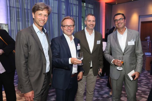 Daniel Martens, Sönke Nieswandt, Frank Revermann und Peter Massmann