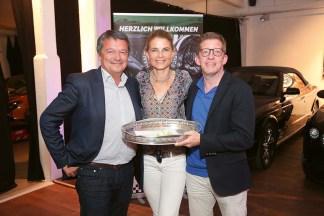 Karl-Heinz Peters, Birte Ballauf und Erol Dervis (3. Platz)