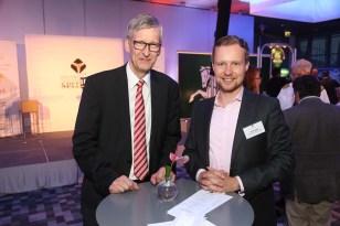 Claus Brandt und Tom Leppin