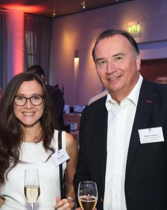 Amelie Nerger und Michael Scherer