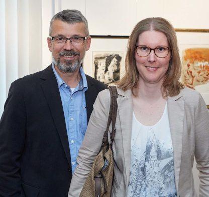 Uwe Nagelschmidt und Nicole Rothenhagen