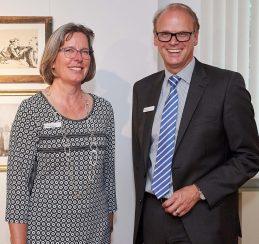 Die Gastgeber Silke Bockemühl und Carsten Zarp