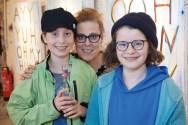 Katinka Rabe mit Frida und Nane