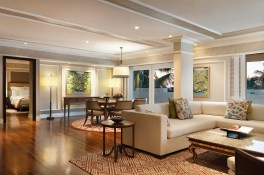 Club Intercontinental_ Pecatu Living Room Evening Time