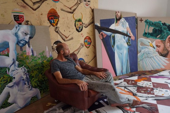 Konrad Ross | Portrait im Atelier