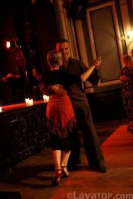 Red evening at Tango on Iceland 2011 - 9