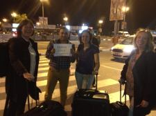we arrived safely in Cyprus