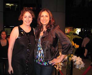 Zarah Gulamhusein and Stephanie Block