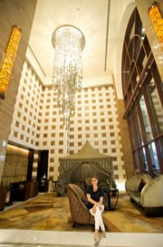 Hotel Kepinski in the Mall of the Emirates