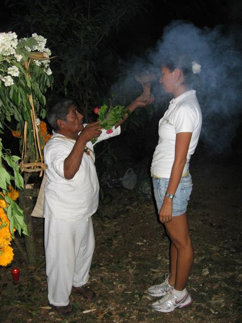 Shaman blessing