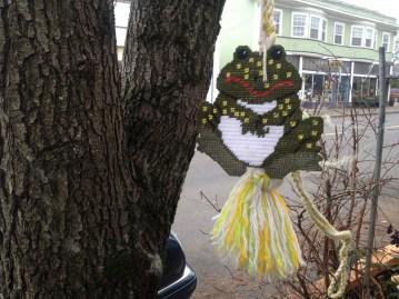 frog in tree portland