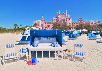Beach Cabana Bed
