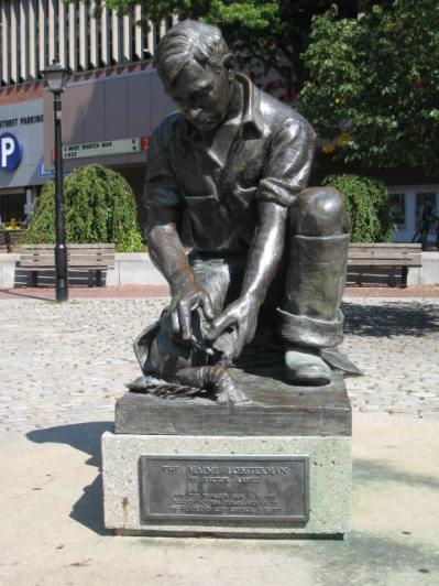 Lobsterman Statue