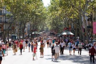 Barcelona. Rambla