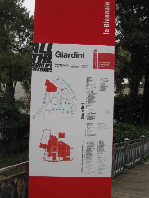 Biennale Sign