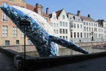 Whale Art on Canal