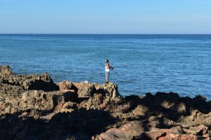 Stuart Beach Fisherman