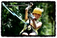 Zipline tour in Roatan
