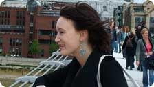 Me on the Millenium Bridge