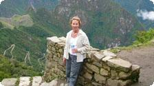 Janet on the Inca Trail