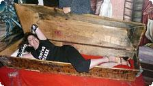 My own coffin!