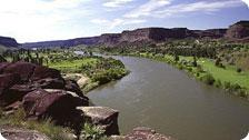 Overlook of the Snake River