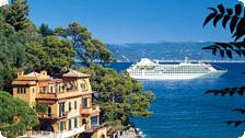A Silversea cruise in the Mediterranean.