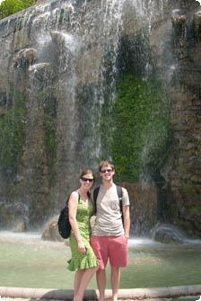A gorgeous waterfall in Nice