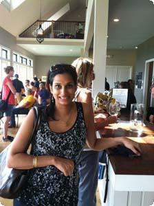 Sherrie at Delaplane Winery