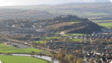 View of the Castle from Wallace Monument