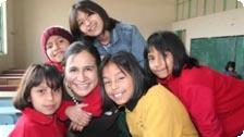 Teach local kids with Global Volunteers.