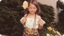 Me as a traditional Salvadorena