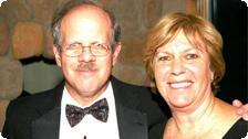 Phil Moss and Etty Dolgin