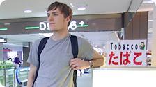 Thailand Bound - Tokyo Airport