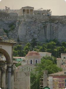 Greek goddess temple Athena: The Part