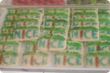 Nice cookies were just one of many sweet