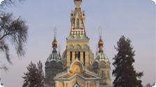 A Church in Almaty.