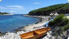 the beaches of Hvar