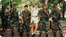 Me and the Salvadoran military - 1995