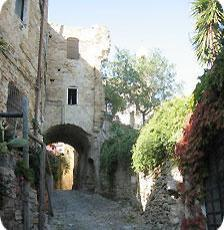 An old part of town