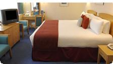 A room at the Royal Trafalgar.